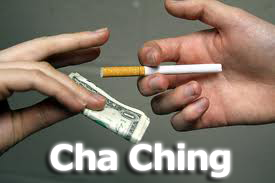 cigarette huslting and high taxes