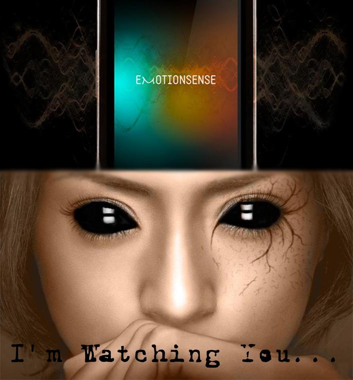 emotion sense is watching you