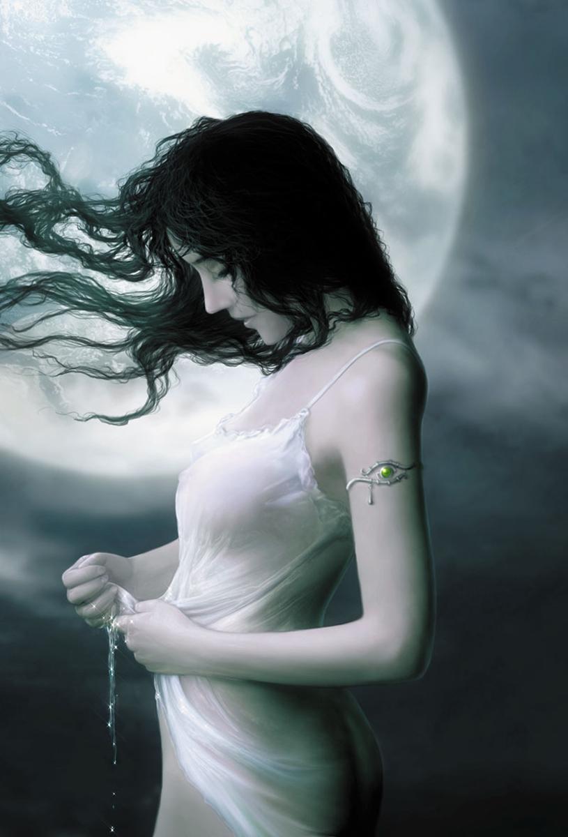 """Harvest Moon"" - A Poem of Forsaken Love and Broken Hearts by Susan Dahr"