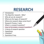 How to Compose Your Research Paper Topics